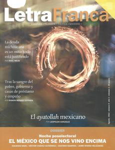 Portada de Letra Franca del No. 5 (Agosto 2012)