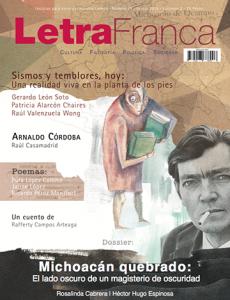 Portada de Letra Franca del No. 29 (Agosto 2014)