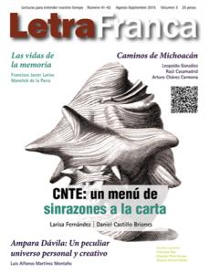 Portada de Letra Franca del No. 41-42 (Agosto-Septiembre 2015)