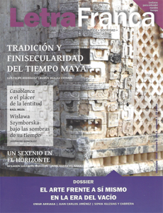 Portada de Letra Franca del No. 9 (Diciembre 2012)