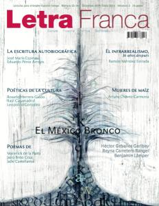 Portada de Letra Franca del No. 33-34 (Diciembre 2014 - Enero 2015)