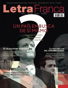 Portada de Letra Franca del No. 35-36 (Febrero 2015 - Marzo 2015)