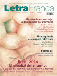 Portada de Letra Franca del No. 28 (Julio 2014)