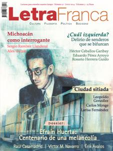Portada de Letra Franca del No. 27 (Junio 2014)
