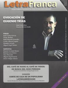 Portada de Letra Franca del No. 12-13 (Marzo-Abril 2013)