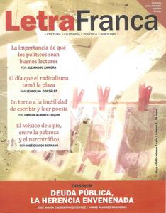 Portada de Letra Franca del No. 2 (Mayo 2012)