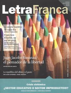 Portada de Letra Franca del No. 7 (Octubre 2012)