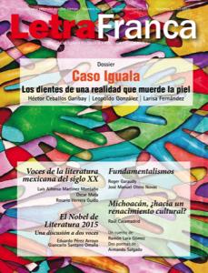 Portada de Letra Franca del No. 43-44 (Octubre-Noviembre 2015)