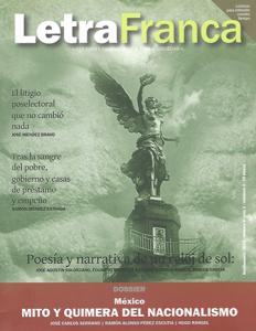 Portada de Letra Franca del No. 6 (Septiembre 2012)