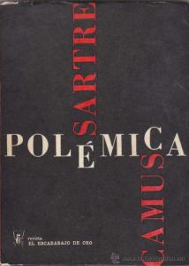 Poémica Camus-Sartre_Escarabajo_de_Oro