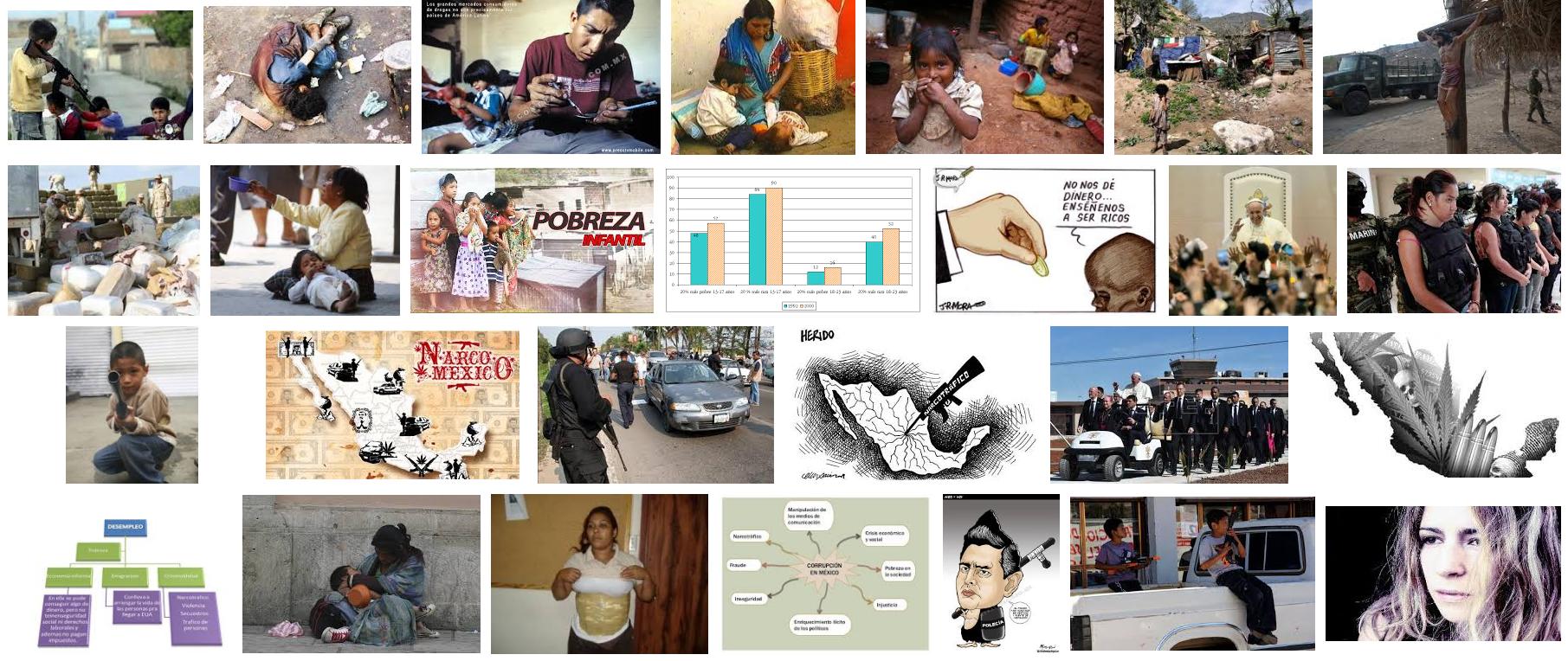 El México Bronco. Pobreza y Narcotráfico