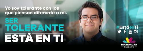 Gobierno del Estado de Michoacan: valores Está en ti, Está en mí